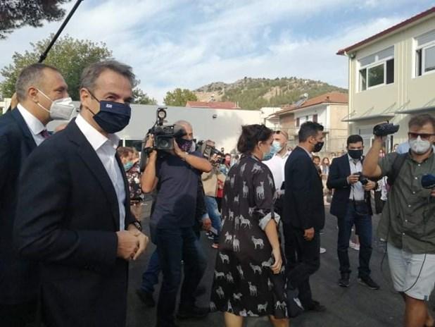 Κυρ. Μητσοτάκης: Ευχαριστώ την ΓΕΚ ΤΕΡΝΑ για το σχολείο στο Δαμάσι Τυρνάβου