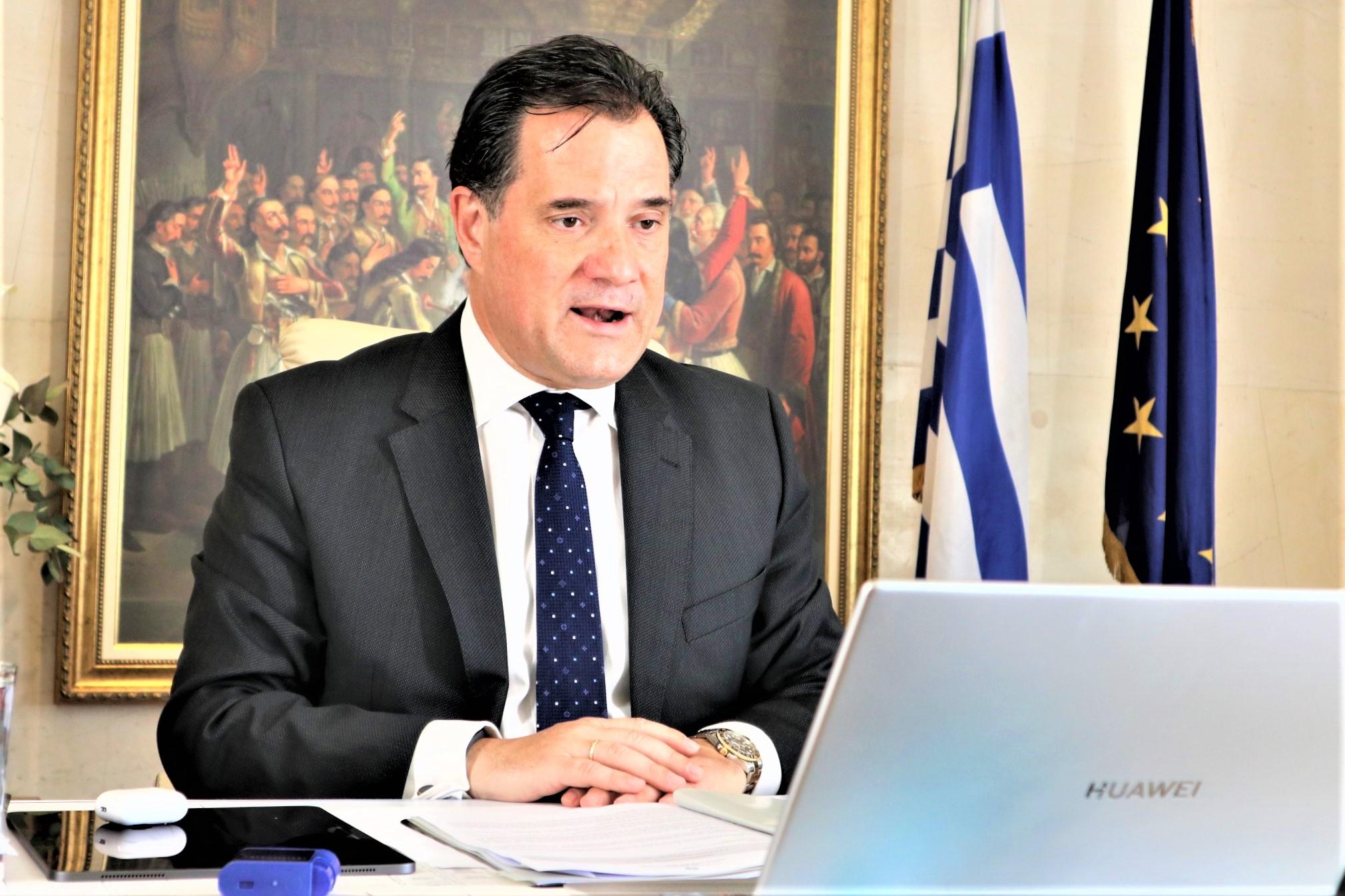 Άδ. Γεωργιάδης: Δεν θα υπάρξουν ελλείψεις στα ράφια των σούπερ μάρκετ τους επόμενους μήνες