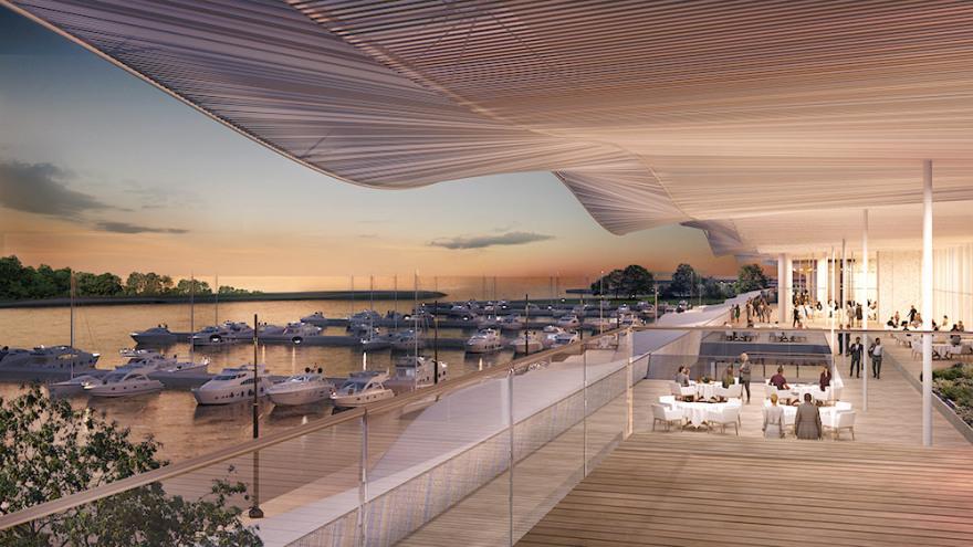Lamda: Έτσι θα είναι το παράκτιο μέτωπο και η Marina Galleria