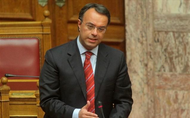 Σταϊκούρας: Η ΕΕ αναγνωρίζει την ορθή παρέμβαση της κυβέρνησης, για την αντιμετώπιση των προβλημάτων
