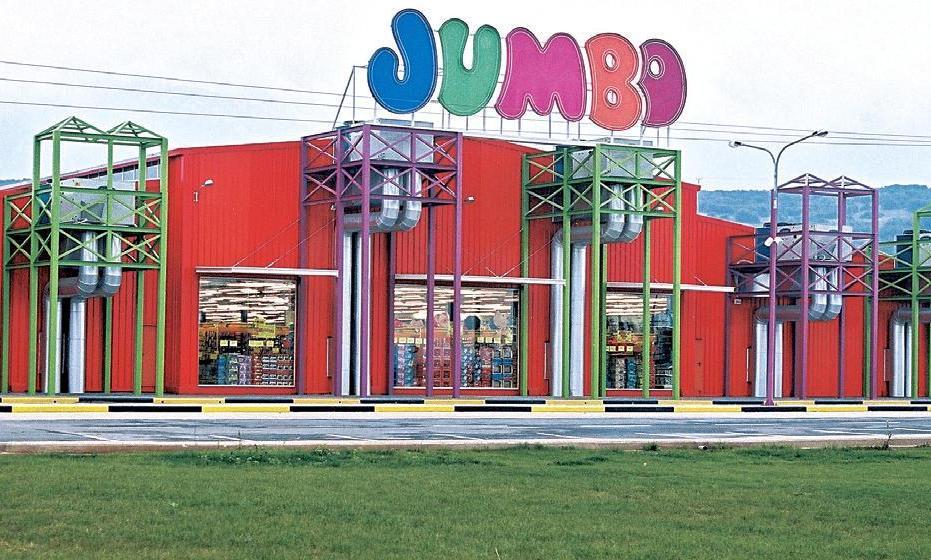 Jumbo: +24% οι πωλήσεις στο α΄τετράμηνο του 2021 αλλά μόνο +5% στην Ελλάδα